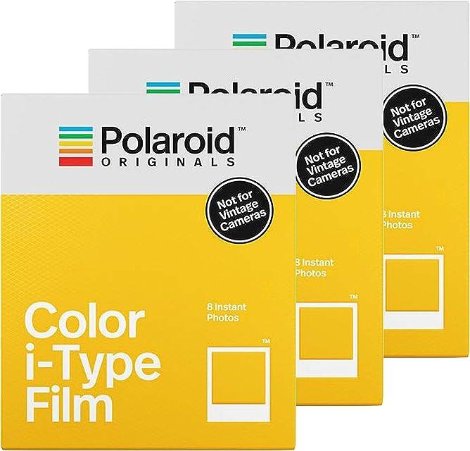 Polaroid Color i-Type Film 8pieza(s) 88 x 107mm película instantáneas - Película fotográfica instantánea (8 Pieza(s))