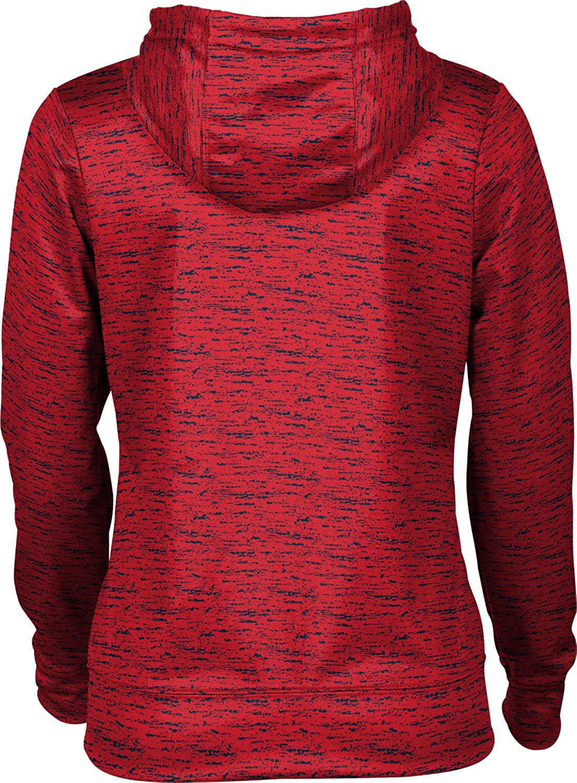 Howard University Girls' Pullover Hoodie, School Spirit Sweatshirt (Brushed)