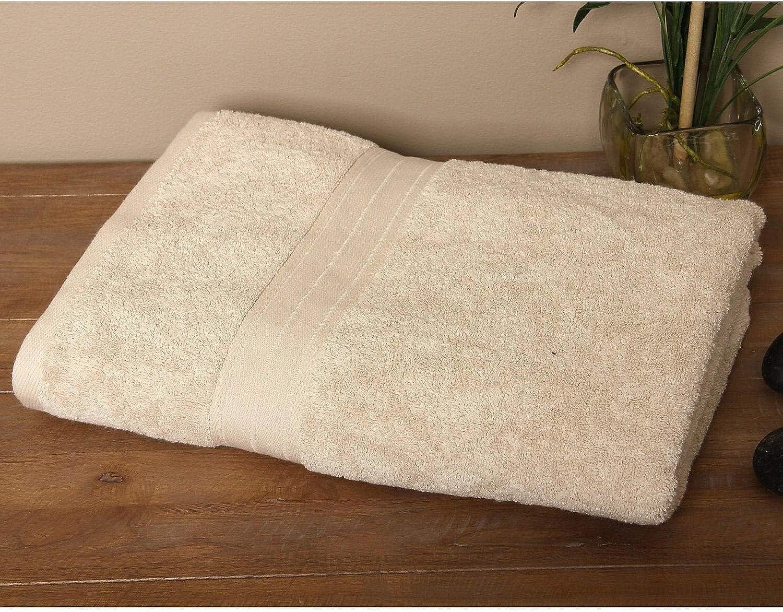 Signature Luxury Egyptian Cotton Bath Sheet (Set of 2) - Creme
