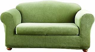 sure fit stretch stripe 2 piece sofa slipcover
