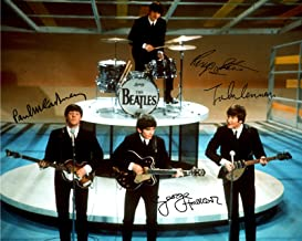 beatles signed memorabilia