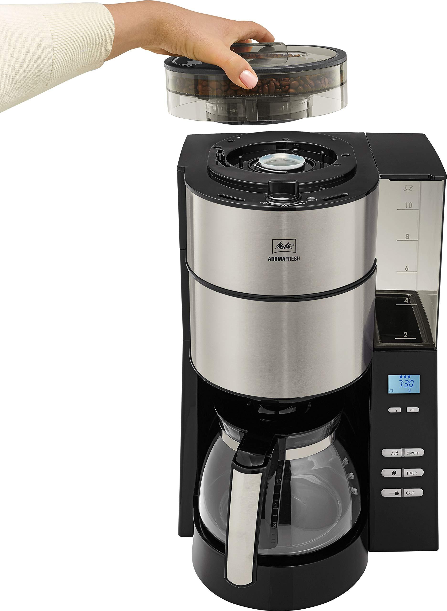1.25 litros 1000 W Melitta 1021-21 Cafetera de goteo