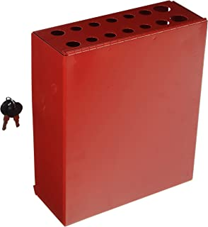 Sunex 8008 Small Hang-On Screwdriver/Prybar Cabinet with Lock