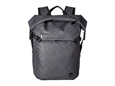KNOMO London Thames Hamilton Roll Top Backpack (Grey) Backpack Bags