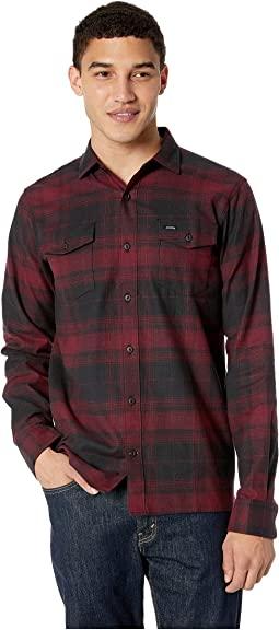 67 Collection - Flex Flannel Long Sleeve Shirt