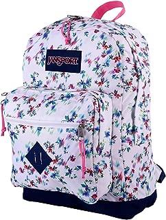 JanSport City Scout Laptop Backpack (Multi White Floral Haze)