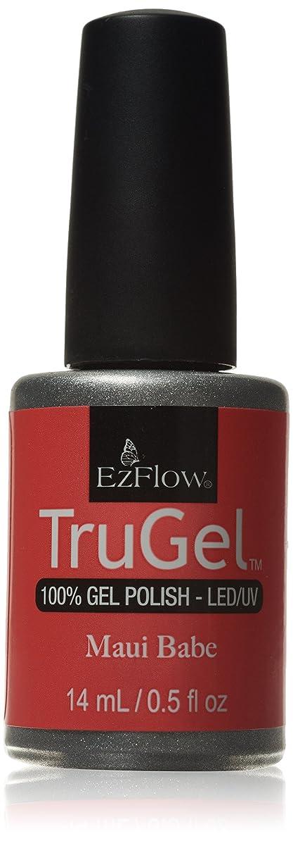ぼんやりした獣支店EzFlow トゥルージェル カラージェル EZ-42443 マウイベイビー 14ml