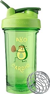 BlenderBottle C04203 Pro Series Foodie Shaker Bottle, 24oz, Avo Cardio