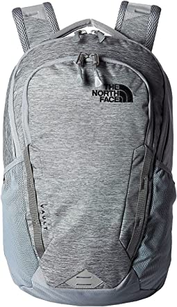 Mid Grey Dark Heather/TNF Black