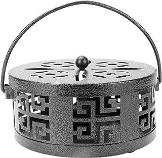 Oriental Mosquito Coil & Incense Holder | M&W Black