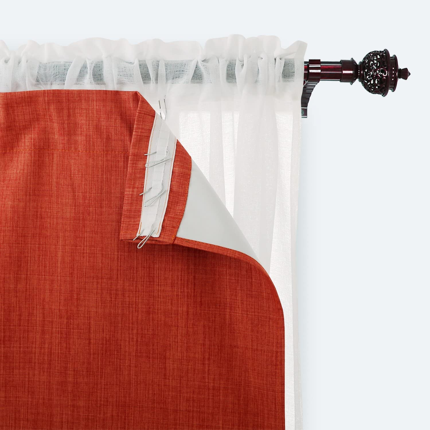 Deconovo Blackout Panels New sales Heavy Thick with Max 50% OFF Coating Liner Curtains