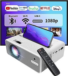 EZCast Beam H3 5 GHz WiFi-projector | Native 1080P Office-projector, 10600 lumen, USB-C en HDMI-poort, compatibel met Fire...