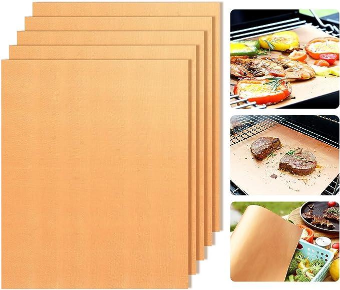 QWESEN Copper Grill Mats Non-Stick BBQ Grill Mat – The Best Versatile Grill Mat