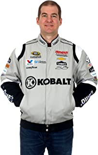 Jimmie Johnson Kobalt Tools Nascar Jacket an Embroidered Cotton Twill Jacket for Men