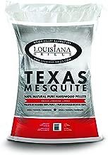 Louisiana Grills 55408 Texas Mesquite Pellets, 40-Pound