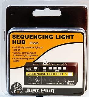 WOODLAND SCENICS SEQUENCING LIGHT HUB FOR JUST PLUG LIGHTING SYSTEM