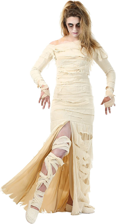 comprar mejor Wohombres Full Length Mummy Fancy Fancy Fancy dress costume Medium  aquí tiene la última