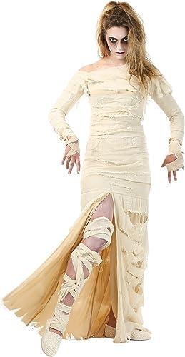 ofreciendo 100% Wohombres Full Full Full Length Mummy Fancy dress costume Large  servicio considerado