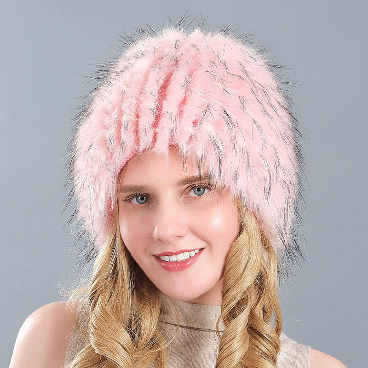 BELEMON Women Cheap super special price Winter Hat Challenge the lowest price of Japan ☆ Thick Warm Ski Earf Fur Faux Ladies