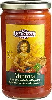 Gia Russa Marinara Pasta Sauce, 24-Ounce Glass Jars (Pack of 3)