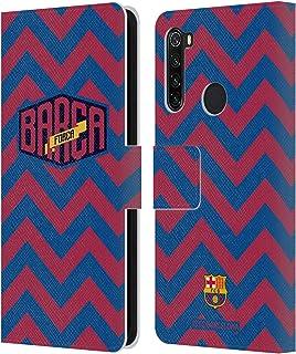 繧ェ繝輔ぅ繧キ繝」繝ォ FC Barcelona Zigzag Forca Barca Xiaomi Redmi Note 8T 蟆ら畑繝ャ繧カ繝シ繝悶ャ繧ッ繧ヲ繧ゥ繝ャ繝・ヨ縲 繧ォ繝舌・繧ア繝シ繧ケ