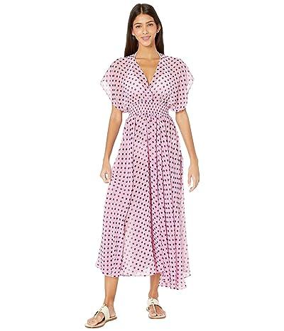 Kate Spade New York Lia Dot Cover-Up Dress (Winter Pink) Women