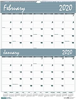 House of Doolittle 2020 Two-Month Wall Calendar, Bar Harbor, 20 x 26 Inches, January - December (HOD337-20)
