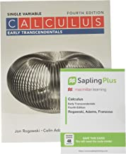 Calculus: Early Transcendentals Single Variable 4e & SaplingPlus for Calculus Early Transcendentals (Multi Term Access)