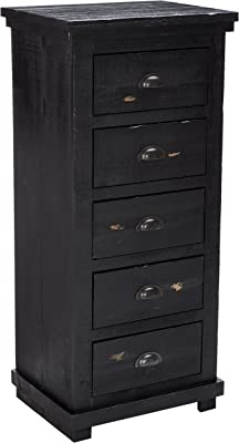 Amazon.com: Chester Drawers - Chocolate Wood Lingerie Chest ...