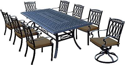 Oakland Living Outdoor &-Patio-Furniture-Sets, Antique Black