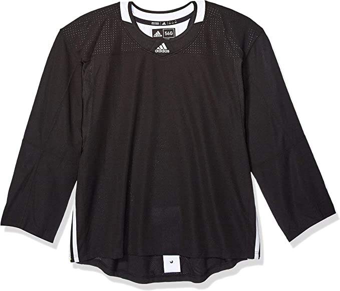 Adidas 3Stripe Goalie Jersey Men's Hockey : Amazon.ca: Sports ...