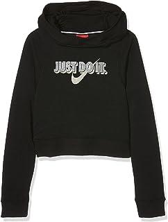 san francisco d26de 969ae Nike G NSW Modern Crop Gx Sweat-Shirt à Capuche Fille