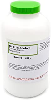 Best sodium acetate buy Reviews