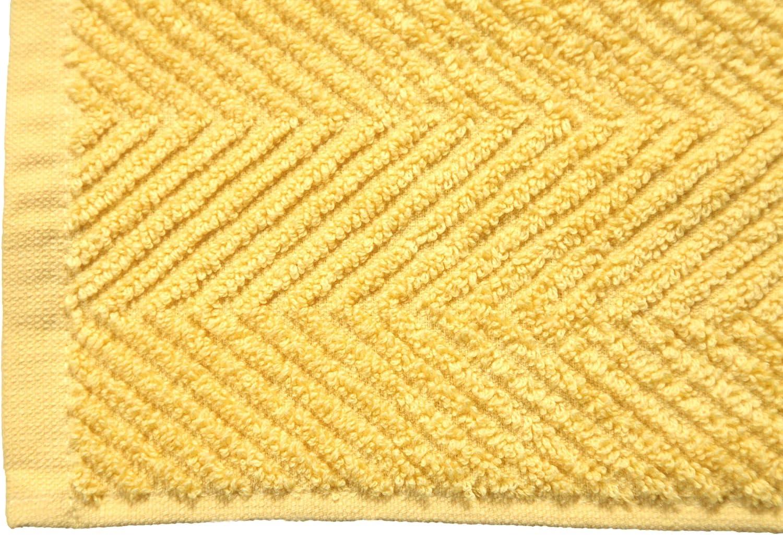 Soft /& Absorbent Cotton Bath Mats 21x34 Inches 2-Pack Hotel-Spa Tub-Shower Bath Mat Floor Towels DOLLCENT 900 GSM Machine Washable Jacquard Chevron 100/% Cotton Bath Mats 2 Pc Grey Bath mat Set