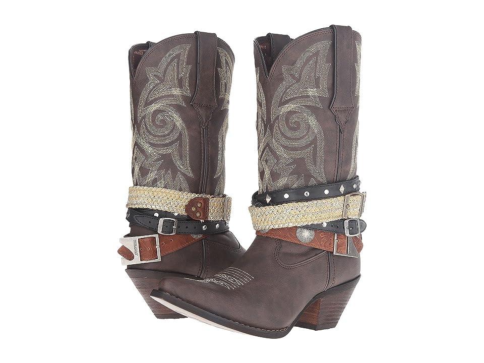 Durango Crush Western Accessory 12 (Dark Brown) Cowboy Boots