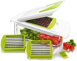 Sharper Image 4 in 1 Magic Chopper - Chop, Slice, Dice, Store all Your Fruits and Vegetables - NO MORE TEARS!