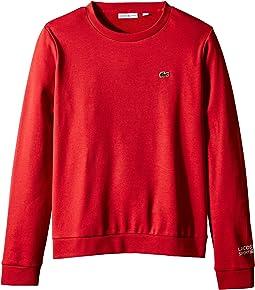 Long Sleeve Fleece Crew Neck Sweatshirt