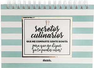Libreta para Recetas - Modelo Secretos Culinarios - La
