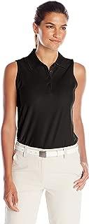 Greg Norman Women's Protek Micro Pique Sleeveless Polo