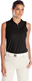 Greg Norman Women's Protek Micro Pique Sleeveless Polo