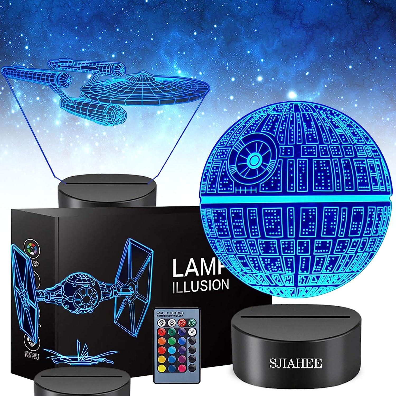 10. 3D Star Wars Lamp