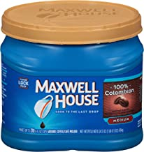 Maxwell House Colombian Ground Coffee (24.5 oz Canister)