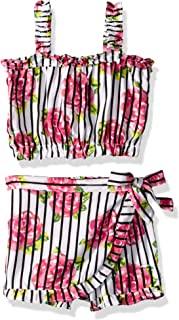 Limited Too baby-girls 2 Piece Fashion Tank Top and Ruffle Skort Set Shorts Set