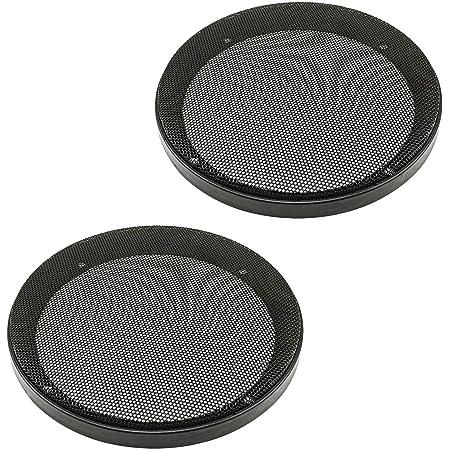 Lautsprechergitter 8 20cm Waben Muster Sechsecklochung Befestigungsset Audio Hifi