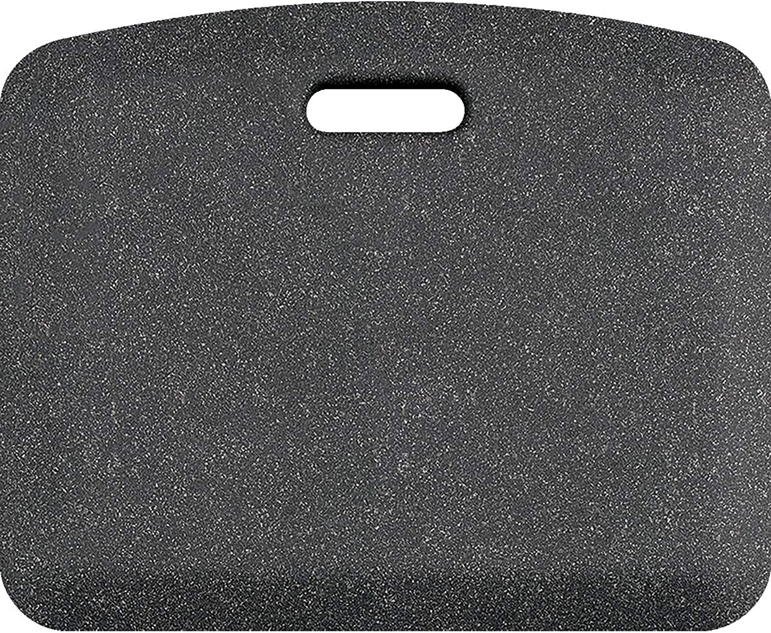 WellnessMats Granite Anti-Fatigue Mat - Comfort, Support & Style - Non-Slip, Non-Toxic - 18 x22 x 3 4  Granite Steel