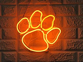 neon tiger sign