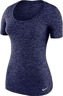 Nike Women's Dry Training T-Shirt Fitness Workout Blue 902082 435