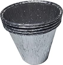(5-Pack) Aluminum Disposable Bucket Liner,for Pit Boss Pellet Grills,Grill Accessories