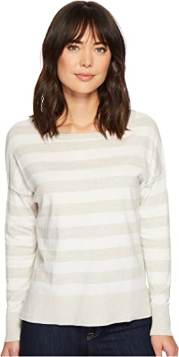 NYDJ - Long Sleeve Striped Sweater
