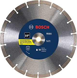 Bosch DB1041C 10 In. Premium Segmented Rim Diamond Blade for Universal Rough Cuts